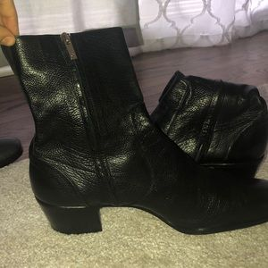 Men's YSL boots authentic boots